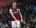 James Chester of Aston Villa during the Championship match at Villa Park Stadium, Birmingham. Picture date 23rd December 2017. Picture credit should read: Simon Bellis/Sportimage