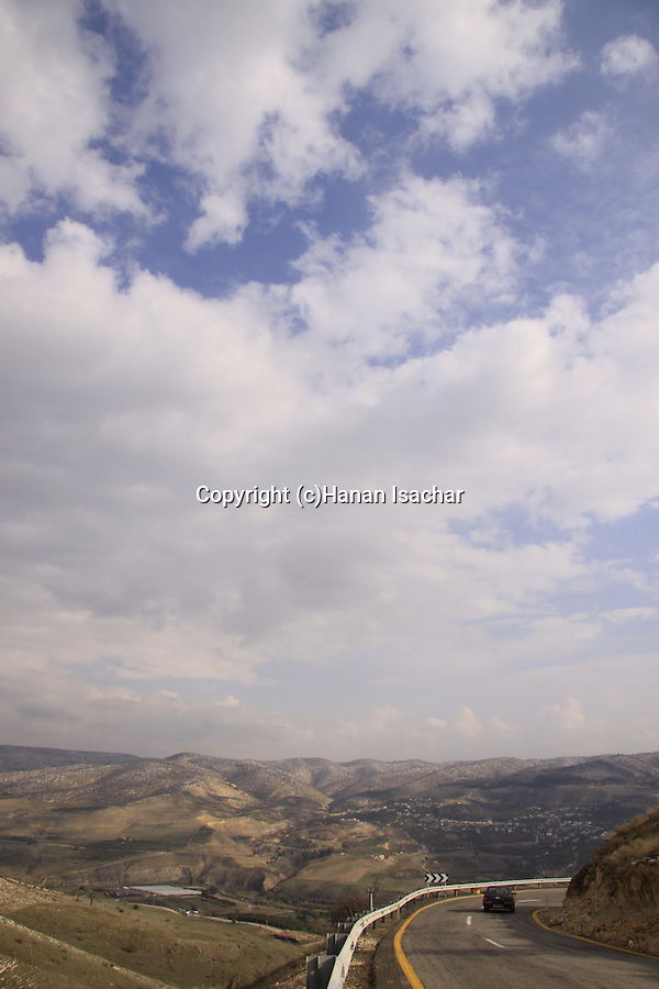 Golan Heights, route 98