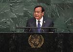 72 General Debate &ndash; 22 September <br /> <br /> Cambodia