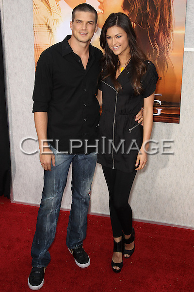 """RICK MALAMBRI, LISA MAY. Arrivals to the LA Premiere of Touchstone Pictures, """"The Last Song,"""" at the Arclight Hollywood Theatre. Los Angeles, CA, USA. March 25, 2010."""