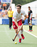 AMSTELVEEN - Phil Roper (Eng) during the poulematch England v Germany (men) 3-4,Rabo Eurohockey Championships 2017.  WSP COPYRIGHT KOEN SUYK