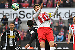 14.01.2018, RheinEnergieStadion, Koeln, GER, 1.FBL., 1. FC K&ouml;ln vs. Borussia M&ouml;nchengladbach<br /> <br /> im Bild / picture shows: <br /> Kopfball durch Jonas Hector (FC K&ouml;ln #14),  <br /> <br /> <br /> Foto &copy; nordphoto / Meuter
