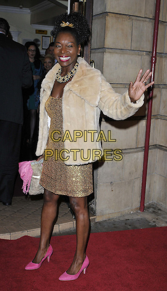 LONDON, ENGLAND - OCTOBER 23: Baroness Floella Benjamin attends the &quot;Memphis&quot; press night performance, Shaftesbury Theatre, Shaftesbury Avenue, on Thursday October 23, 2014 in London, England, UK. <br /> CAP/CAN<br /> &copy;Can Nguyen/Capital Pictures