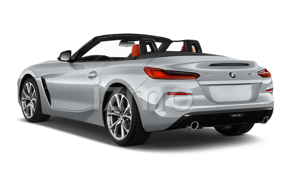 Car pictures of rear three quarter view of 2019 BMW Z4 Sport 2 Door Convertible Angular Rear