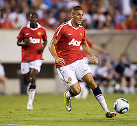 Federico Macheda. Manchester United defeated Philadelphia Union, 1-0.