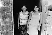 Women responsible for the running of the community laundrette. Community of Nueva Esperanza, El Salvador, 1999.