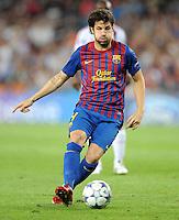 FUSSBALL   CHAMPIONS LEAGUE   SAISON 2011/2012   GRUPPE  H 13.09.2011 FC Barcelona - AC Mailand  Cesc Fabregas (Barca)
