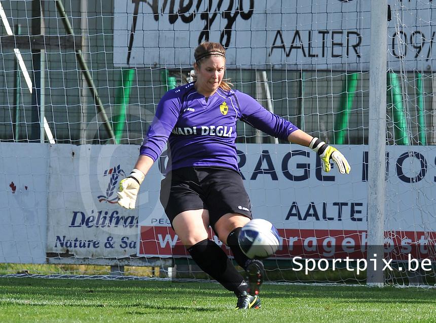 Club Brugge Dames - WD Lierse SK : Dorien Peeters.foto DAVID CATRY / Vrouwenteam.be