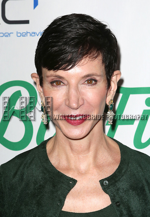 Amy Fine Collins  attends the Broadway Opening Night Performance of 'Big Fish' at the Neil Simon Theatre in New York City on October 6, 2013.