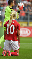 20170803 - BREDA , NETHERLANDS : Danish Pernille Harder   pictured during the female soccer game between Denmark and Austria  , the semi final at the Women's Euro 2017 , European Championship in The Netherlands 2017 , Thursday 3th of August 2017 at Stadion Rat Verlegh in Breda , The Netherlands PHOTO SPORTPIX.BE | DIRK VUYLSTEKE