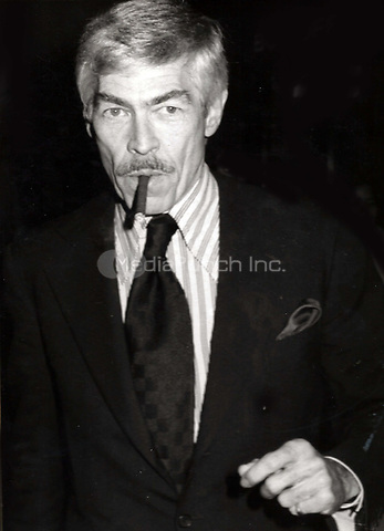 James Coburn 1977<br /> Photo to By John Barrett/PHOTOlink/MediaPunch
