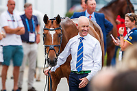 AUS-Andrew Hoy: during the SAP Cup CICO4*-S Nations' Cup Eventing 1st Horse Inspection. 2019 GER-CHIO Aachen Weltfest des Pferdesports. Thursday 18 July. Copyright Photo: Libby Law Photography