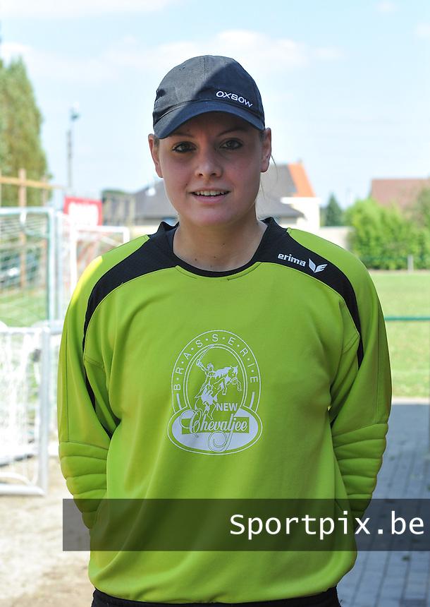 DV Lanaken : Celine Smellers .foto Joke Vuylsteke / Vrouwenteam.be