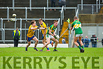 Kerry Barry O'Sullivan demands the ball against Roscommon during their NFKL Div 1 clash in Fitzgerald Stadium on Sunday