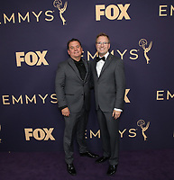 LOS ANGELES - SEPTEMBER 22: Maury McIntyre and Patrick Welborn attend the 71st Primetime Emmy Awards at the Microsoft Theatre on September 22, 2019 in Los Angeles, California. (Photo by Brian To/Fox/PictureGroup)