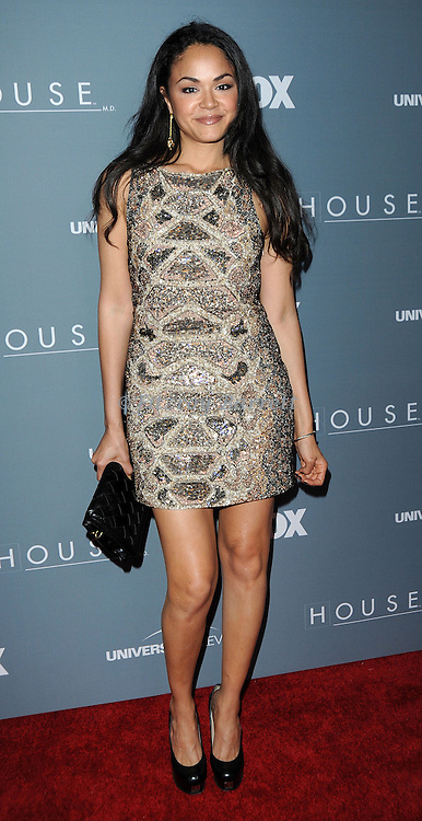 Karen Olivo attending the House Series  Finale Wrap Party, held at Cicada's in Los Angeles, CA. April 20, 2012