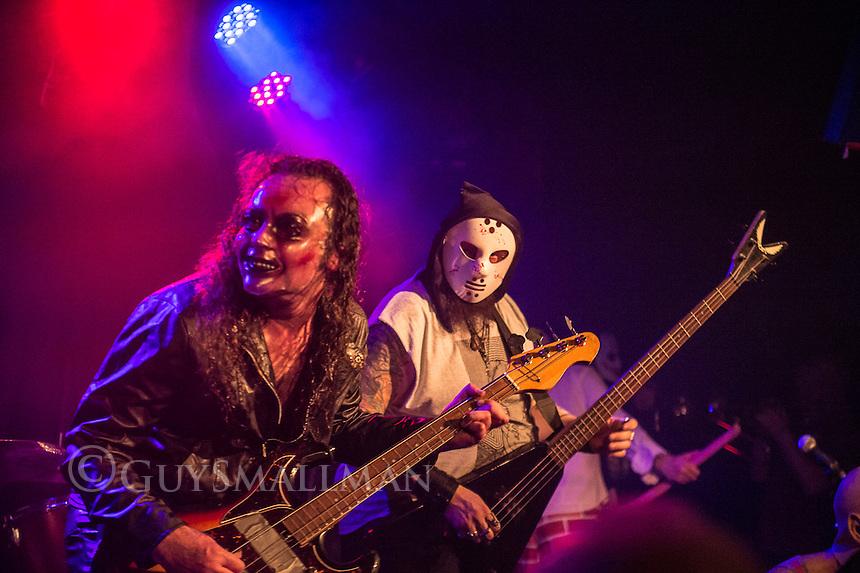 Preston band Evil Blizzard play the Lexington club in North London 14-5-16