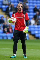 Fleetwood Town's Alex Cairns during the pre-match warm-up <br /> <br /> Photographer David Shipman/CameraSport<br /> <br /> The EFL Sky Bet League One - Peterborough United v Fleetwood Town - Friday 14th April 2016 - ABAX Stadium  - Peterborough<br /> <br /> World Copyright &copy; 2017 CameraSport. All rights reserved. 43 Linden Ave. Countesthorpe. Leicester. England. LE8 5PG - Tel: +44 (0) 116 277 4147 - admin@camerasport.com - www.camerasport.com