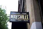 Maysville is a Manhattan bar specializing in bourbon.