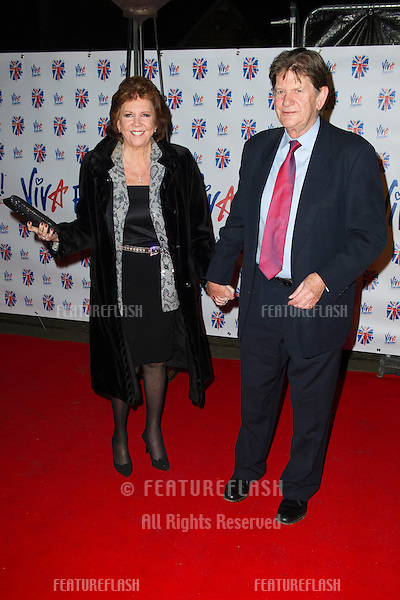 Cilla Black at the Viva Forever Press Night, London. 11/12/2012 Picture by: Simon Burchell / Featureflash