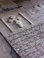 Gottesmutter-Kirche im Kloster Gelati, Imeretien - Imereti;, Georgien, Europa, UNESCO-Weltkulturerbe<br /> inside  Mother of God church in monastery Gelati,  Inereti,  Georgia, Europe, world heritage
