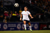Sky Blue FC forward Monica Ocampo (8). The Western New York Flash defeated Sky Blue FC 2-0 during a National Women's Soccer League (NWSL) semifinal match at Sahlen's Stadium in Rochester, NY, on August 24, 2013.