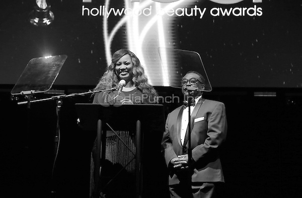 Hollywood, CA - February 19: Garcelle Beauvais, Sterfon Demings, At 3rd Annual Hollywood Beauty Awards_Show, At Avalon Hollywood In California on February 19, 2017. Credit: Faye Sadou/MediaPunch