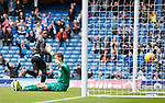 21.07.2019: Rangers v Blackburn Rovers: Jermain Defoe heads in to score