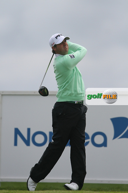 Matthew Baldwin (ENG) on the 9th on Day 4 of the 2012 Nordea Masters at Bro Hof Slott Golf Club, Bro, Sweden...(Photo Jenny Matthews/www.golffile.ie)