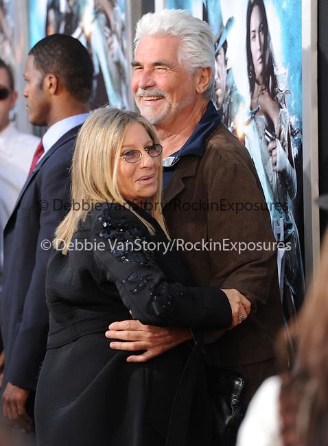 James Brolin & Barbra Streisand at the Warner Bros. Pictures Special Screening of Jonah Hex in Hollywood, California on June 17,2010                                                                               © 2010 Debbie VanStory / Hollywood Press Agency