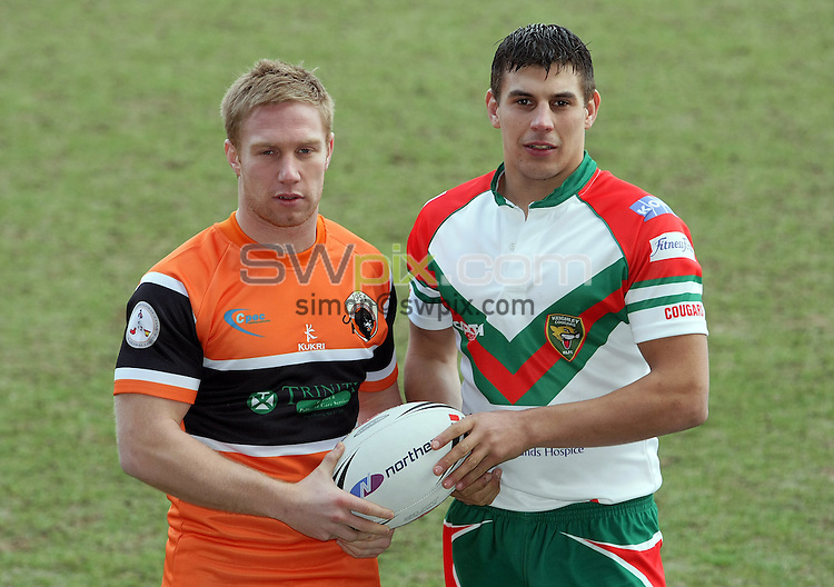PICTURE BY VAUGHN RIDLEY/SWPIX.COM - Rugby League - Northern Rail Cup Launch 2009 - Bloomfield Road Stadium, Blackpool, England - 29/01/09...Copyright - Simon Wilkinson - 07811267706...Blackpool v Keighley.