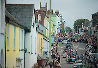 amazing crowds at the Tour of Britain<br /> <br /> 2013 Tour of Britain<br /> stage 6: Sidmouth to Haytor (Dartmorr): 137km