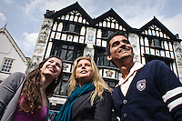 Photos for Kingston University  London international student brochures and prospectuses.??Lively and historic environment -.Market place - outside timbered building..??Date Taken: 19/04/10??Location: ??Contact:??Commissioned by:  Kingston University - Emma Carlino?Emma Carlino.International Marketing Communications Manager.International Centre.Kingston University London.Swan Wing, River House.53-57 High Street.Kingston upon Thames.London.KT1 1LQ.UK.Tel: +44(0)20 8417 3006.Fax: +44(0)20 8417 3028.Email: e.carlino@kingston.ac.uk.Website: www.kingston.ac.uk/international