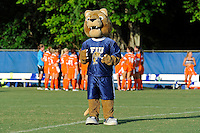 21 August 2011:  FIU's mascot, Roary, takes the field prior to the match.  The University of Florida Gators defeated the FIU Golden Panthers, 2-0, at University Park Stadium in Miami, Florida.