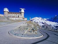 Kulm hotel and trail, Gornergrat, Zermatt, Swiss Alps, Switzerland, Europe