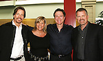 "Guiding Light's Bradley Cole ""Jeffrey"", Kim Zimmer ""Reva"", Frank Dicopoulos ""Frank Cooper"" and Robert Newman ""Josh"" pose at the Young Women's Breast Cancer Foundation event - Reach to Recovery - ""Spring into Shape!"" Luncheon and Fashion Show on April 6, 2008 at Embassy Suites, Coraopolis, Pennsylvania. The event also included a Chinese Auction and an autograph session with the Guiding Light actors. (Photo by Sue Coflin/Max Photos)"