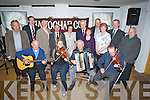 FLEADH CHEOIL: Members of the Kerry Fleadh Cheoil committee with thew mayore of Kerry and Jimmy Denihan TD who launch the Kerry Fleadh Cheoil in Yappoe Bar Causeway on Sunday night. Front l-r: Bernard Finegan,Breda Hussey, Richard Casey and Liam Power. Back l-r: Bernard Cronin, Denis Courtney, John Canty (chairman), Pat Leahy (mayor of Kerry), Marian Hussey, Jimmy Denihan (TD), Geraldine Guilfoyle, John Leen, Christina Neilan, Tadhg Mulcahy and John Lyons...