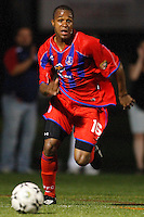 Crystal Palace midfielder Larry Mark (16). Crystal Palace FC USA of Baltimore (USL2) defeated the New York Red Bulls (MLS) 2-0 during a Lamar Hunt US Open Cup third round match at Lawrence E. Knight Stadium in Annapolis, Maryland, on July 01, 2008.