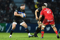 Henry Thomas of Bath Rugby in possession. Heineken Champions Cup match, between Stade Toulousain and Bath Rugby on January 20, 2019 at the Stade Ernest Wallon in Toulouse, France. Photo by: Patrick Khachfe / Onside Images