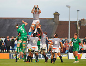 9th September 2017, Galway Sportsground, Galway, Ireland; Guinness Pro14 Rugby, Connacht versus Southern Kings; Southern Kings win a line out against Connacht