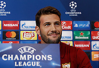 Calcio, Champions League: Juventus vs Siviglia, conferenza stampa Siviglia. Torino, Juventus Stadium, 13 settembre 2016.<br /> Sevilla's Franco Vazquez attends a press conference ahead of the Group H Champions League football match against Juventus, at the Juventus stadium, 13 September 2016.<br /> UPDATE IMAGES PRESS/Isabella Bonotto