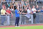 Heddesheim 18.07.12, Oberliga, FV Fortuna Heddesheim - VfR Mannheim, Heddesheims Trainer Renne G&ouml;lz an der Seitenlinie<br /> <br /> Foto &copy; Rhein-Neckar-Picture *** Foto ist honorarpflichtig! *** Auf Anfrage in hoeherer Qualitaet/Aufloesung. Belegexemplar erbeten. Veroeffentlichung ausschliesslich f&uuml;r journalistisch-publizistische Zwecke.
