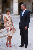 2017 08 04 King of Spain and Queen Sofia in Mallorca
