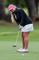Laura Hoskin. New Zealand Amateur Championship, Wairakei Golf Course and Sanctuary, Taupo, New Zealand, Saturday 3 November 2018. Photo: Simon Watts/www.bwmedia.co.nz