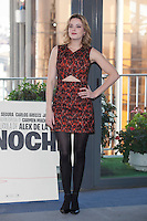Actress Carolina Bang poses during `Mi gran noche´ film presentation in Madrid, Spain. February 20, 2015. (ALTERPHOTOS/Victor Blanco) /NORTEphoto.com