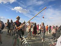 Burning Man, Carnival of Mirrors. Black Rock Desert, Nevada. Alison Wright.