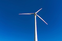 Wind turbine, Madison, New York, USA