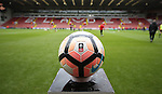 FA cup official ball during the Emirates FA Cup Round One match at Bramall Lane Stadium, Sheffield. Picture date: November 6th, 2016. Pic Simon Bellis/Sportimage