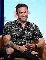 2019 FOX SUMMER TCA: BH90210 cast member Brian Austin Green during the BH90210 panel at the 2019 FOX SUMMER TCA at the Beverly Hilton Hotel, Wednesday, Aug. 7 in Beverly Hills, CA. CR: Frank Micelotta/FOX/PictureGroup