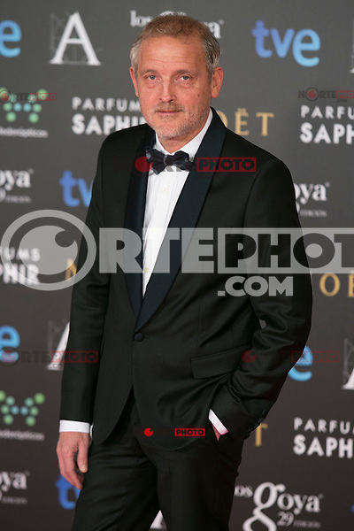 Jordi Rebello attend the 2015 Goya Awards at Auditorium Hotel, Madrid,  Spain. February 07, 2015.(ALTERPHOTOS/)Carlos Dafonte) /NORTEphoto.com